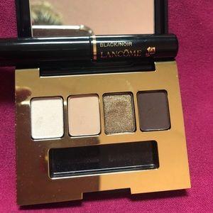 Estée launder eyeshadow & Lancôme mascara mini set
